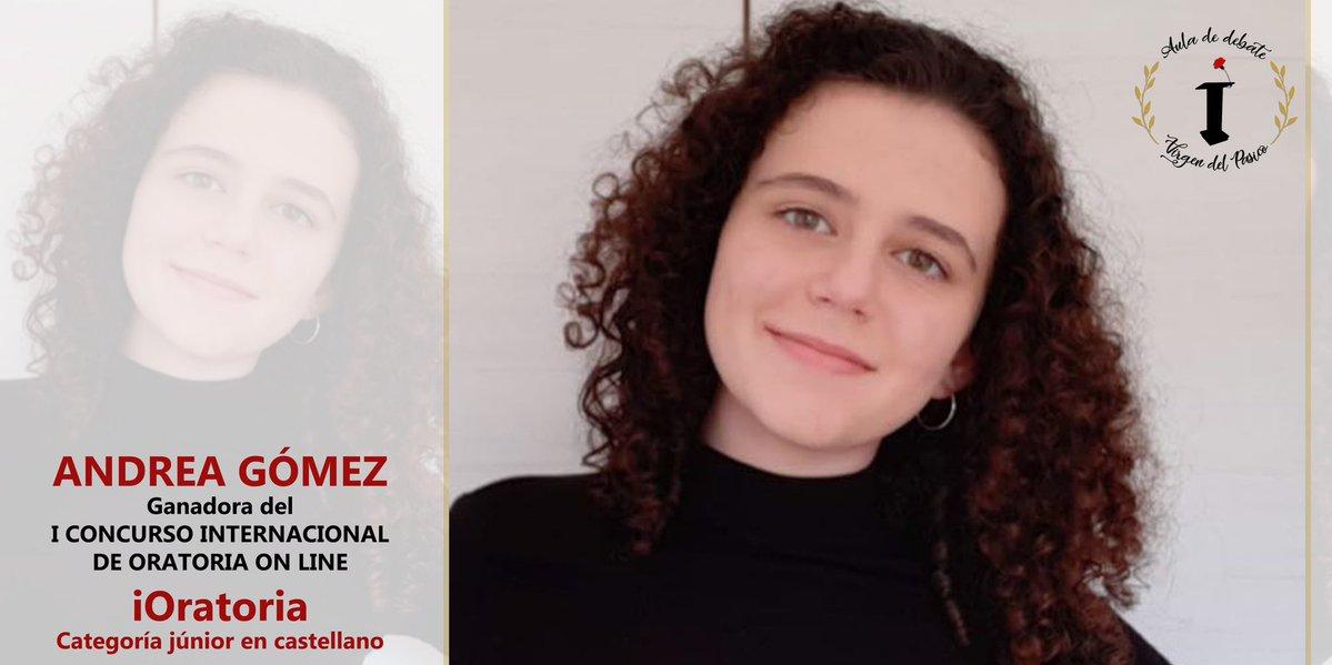 Una alumna de la cooperativa Virgen del Pasico gana el I Concurso Internacional de Oratoria Online