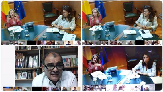 Calviño reafirma su apuesta por el papel de las empresas de Economía Social en la recuperación en España y Europa