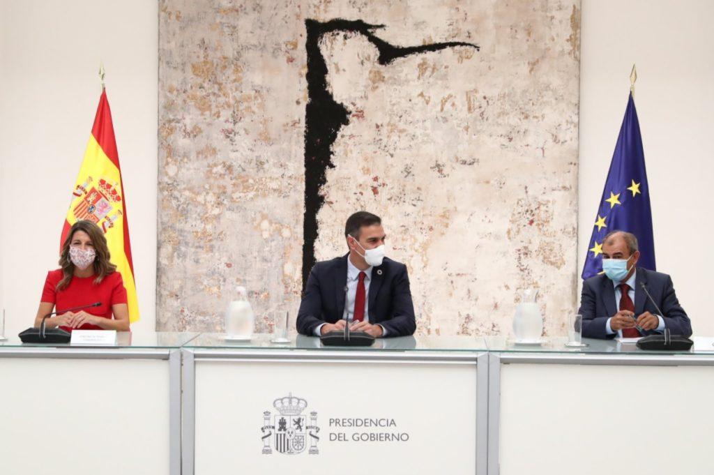Sánchez confirma la participación activa de la Economía Social en los planes y fondos de recuperación