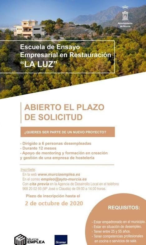 Escuela de Ensayo Empresarial en Restauración LA LUZ