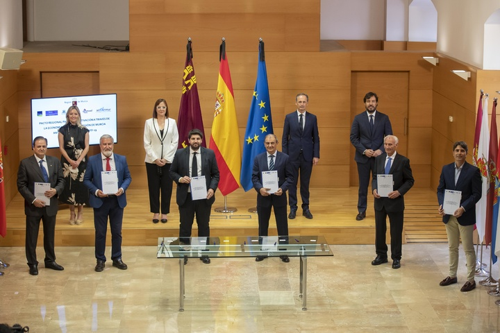 Comienzan Los trabajos para la elaboración de un nuevo Pacto Regional por la Economía Social