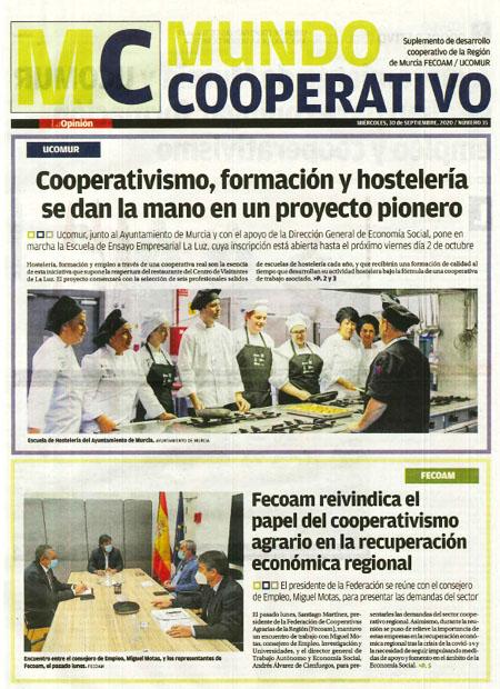 Cooperativismo, formación y hostelería se dan la mano en un proyecto pionero