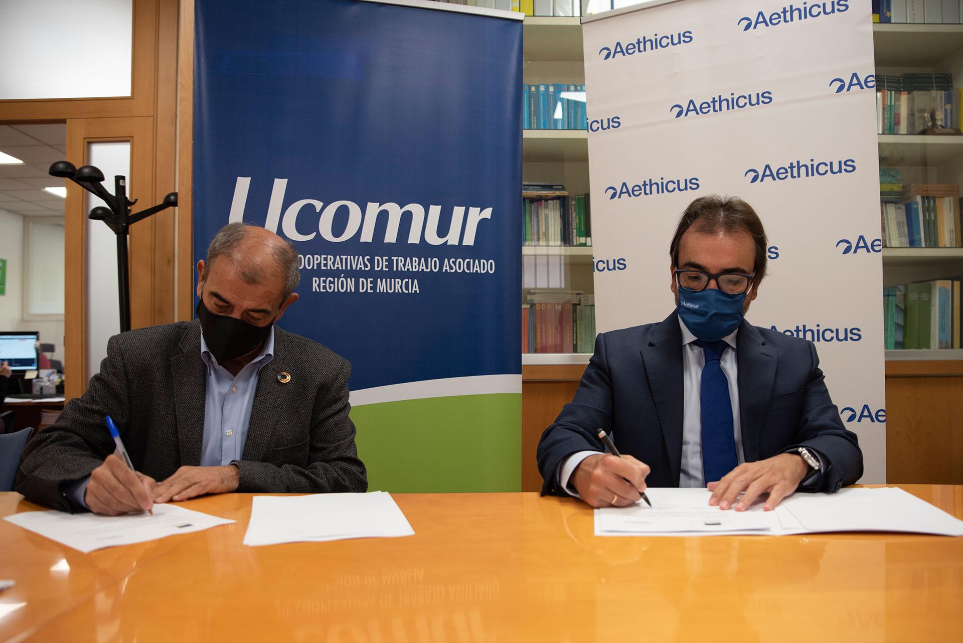 UCOMUR y Aethicus firman un convenio que permite a los cooperativistas obtener descuentos y beneficios en el campo del derecho inmobiliario