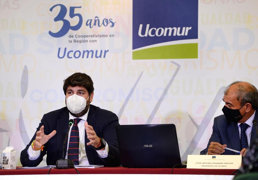Al evento asistió el presidente de la Región de Murcia, Fernando López Miras