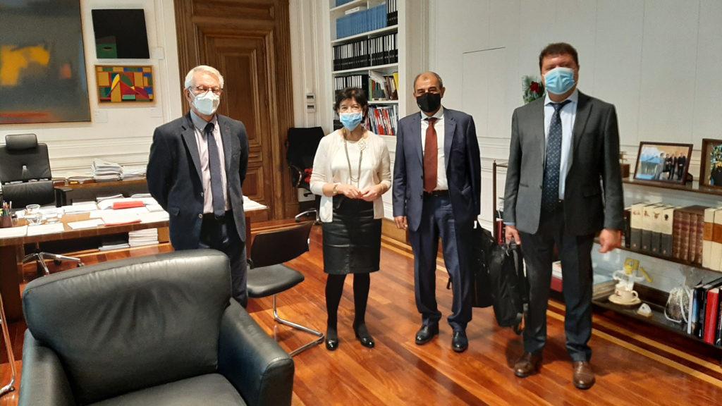 reunión de CEPES con la ministra Celaá