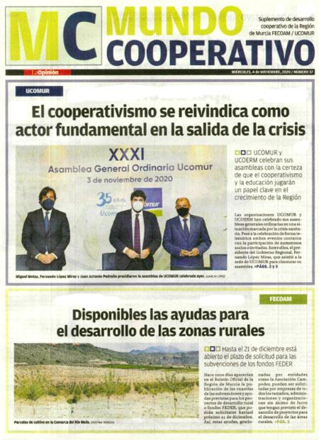 El cooperativismo se reivindica como actor fundamental en la salida de la crisis