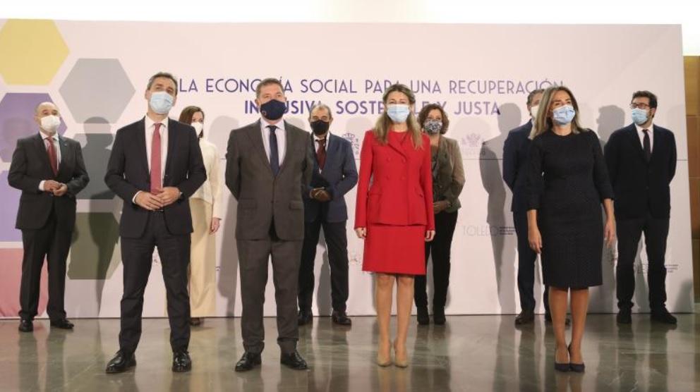 Este evento de alto nivel fue la principal actividad que se ha celebrado en el marco de Toledo como Capital Europea de la Economía Social 2020