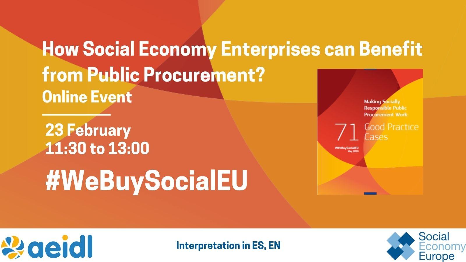 ¿Cómo pueden beneficiarse las empresas de la economía social de la contratación pública?