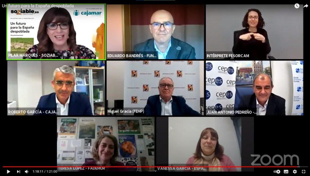Encuentro para la Transformación 'Un futuro para la España despoblada'