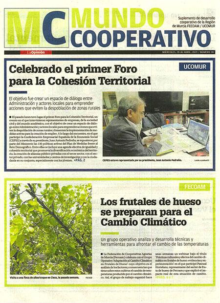 Celebrado el primer Foro para la Cohesión Territorial