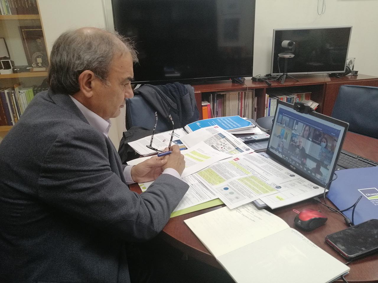 CEPES estuvo representada por su presidente, Juan Antonio Pedreño