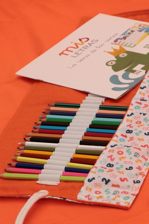 """La cooperativa textil VayaTela S.Coop lanza la campaña """"Recreos Residuo cero"""" para dotar a los alumnos de bolsas, estuches y otros enseres fabricados con tejidos reciclados"""