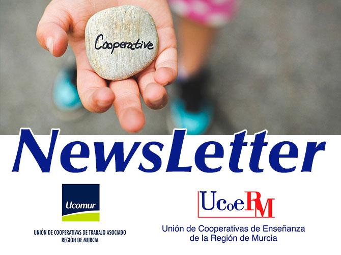 Newsletter Ucomur y Ucoerm noticias cooperativismo y economía social región de murcia
