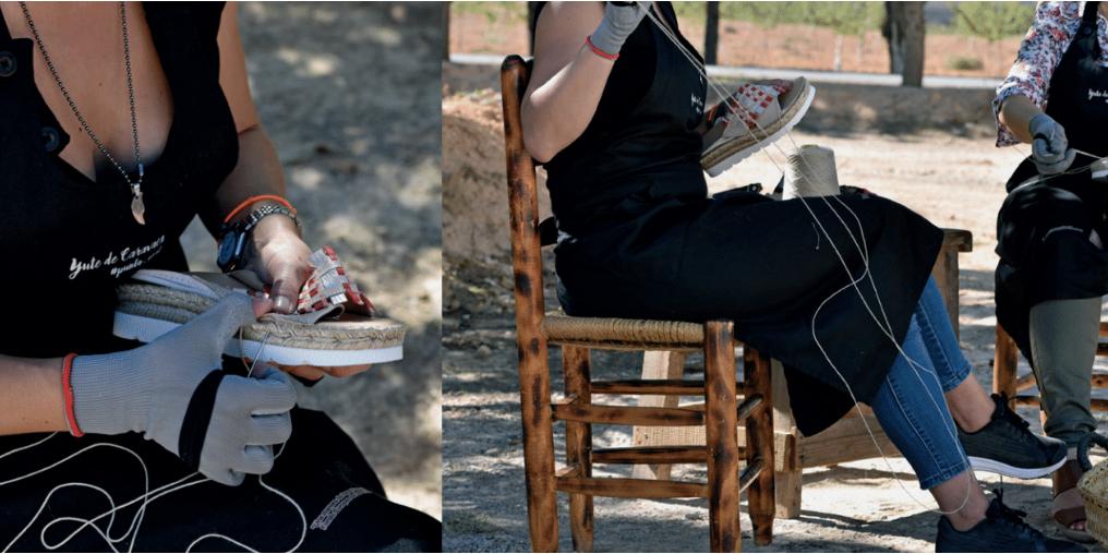 La cooperativa de calzado Yute de Caravaca participa en el festival de las artes del Youte