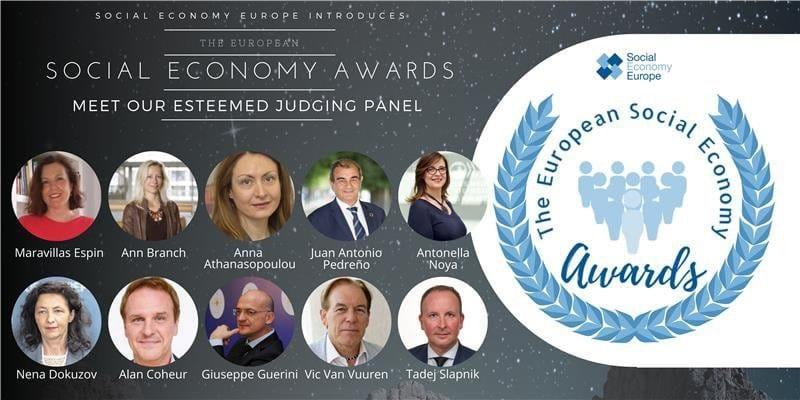 jurado de los Premios Europeos de la Economía Social 2021